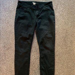 BDG Ankle Cigarette Black Jeans